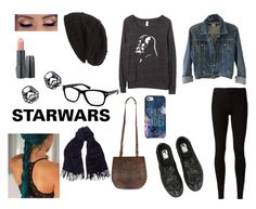 """""""StarWars"""" by emmasunshinex ❤ liked on Polyvore featuring Vans, David & Young, Girlactik, Tom Ford, Lancôme, Kate Spade, Acne Studios, Theory and Rick Owens Lilies"""