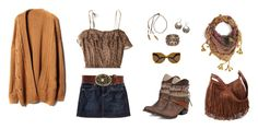 """Country - Nowadays"" by brublue ❤ liked on Polyvore"