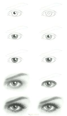 Aula GRÁTIS de como usar o esfuminho corretamente! FREE realistic drawing lessons, learn how to use the smudge the right way in your drawings! Trippy Drawings, Dark Drawings, Unique Drawings, Pencil Art Drawings, Animal Drawings, Drawing Sketches, Cool Drawings, Disney Drawings, Realistic Eye Drawing