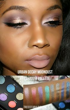 The Glitter You Need in Your Life Now: Urban Decay Moondust Eyeshadow Palette Review + Swatches - Treceefabulous