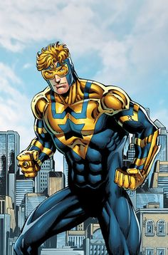 Booster Gold #DC comics illustration