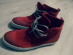 Mark Adams Red Leather Boots :)