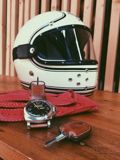 Ruby Helmet - Panerai - amo strap by ADC - custom key