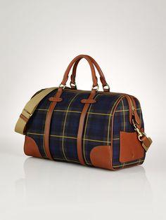6a8a708b9a5b Large Tartan Duffel Bag - Polo Ralph Lauren Handbags - RalphLauren.com Mk  Bags