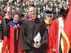 Steve Jobs: Stanford Rede als deutscher Text - Steve Jobs at Stanford Commencement