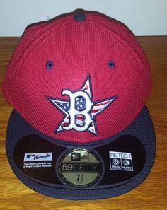 bd1ed317e510e NEW ERA 59Fifty Boston RED SOX Stars   Stripes MLB Baseball Hat Cap Fitted  5950  NewEra  BostonRedSox
