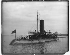 """Union Navy - """"USS KATAHDIN"""" (1861) was a (158') Unadilla Class Gunboat – Commissioned: 17 February 1862 – Crew: 114 Officers, Enlisted – Armament: 1 × 11 Inch (280mm)  Dahlgren Smoothbore Cannon, 2 x 24-Pounder Smoothbore and 2 x 20-Pounder Parrott Rifle – was assigned to the West Gulf Blockading Squadron – Decommissioned: 14 July 1865 and Sold: 30 November 1865"""
