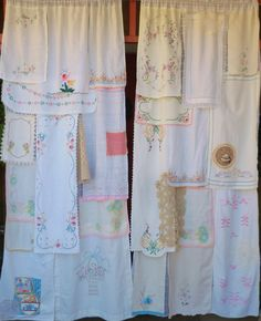 LONG Ago and FAR Away - Handmade Gypsy Curtains