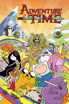 Adventure Time vol 1 by Ryan North http://www.amazon.co.uk/dp/1782760008/ref=cm_sw_r_pi_dp_2KQRvb1PFAZA8