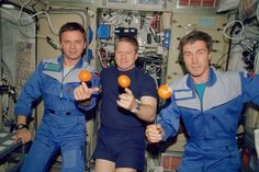 NASA Astronaut William Shepherd   Russian Cosmonaut Sergei Kirkalev   Russian Cosmonaut Yuri Gidzenko   Aboard the the ISS