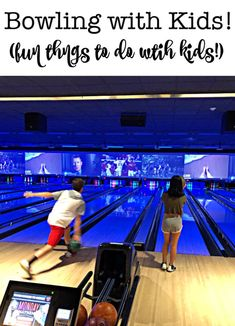 As an indoor and air-conditioned activity- bowling with kids makes for a great DIY summer camp field trip, especially on a rainy day! I have a few tips for you to make summer bowling with kids inexpensive and fun! Camping Games, Camping Activities, Camping Crafts, Summer Activities, Summer Diy, Summer Ideas, Summer Camping Outfits, Indoor Camping, Organized Mom