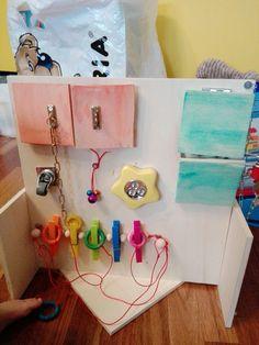 Pannello multiattività Montessori, Handmade, Hand Made, Handarbeit