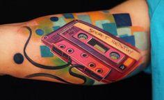 ¡26 tatuajes de música que rockean!