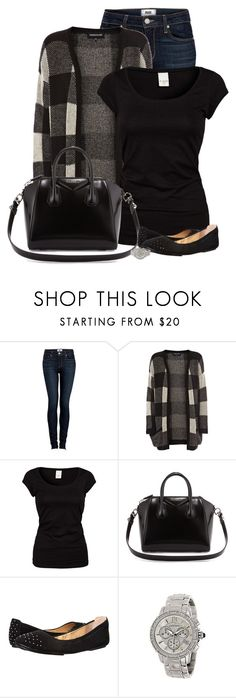 """""""Untitled #523"""" by denise-schmeltzer ❤ liked on Polyvore featuring Paige Denim, Warehouse, VILA, Givenchy, Cole Haan, Judith Ripka, women's clothing, women's fashion, women and female"""