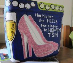 The higher the heels..