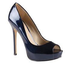 Amazon.com: ALDO Bowlick - Women Peep-toe Pumps in Navy: Shoes, $55