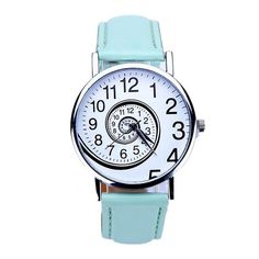 Cheap watch gigli, Buy Quality watch lovers directly from China watch video on line Suppliers: Relogio feminino 2017 New Casual Women Swirl Pattern Leather Analog Quartz Wrist Watch Horloge Montres pour homme wholesale 11 Simple Watches, Watches For Men, Women's Watches, Wrist Watches, Unusual Watches, Trendy Watches, Elegant Watches, Swirl Pattern, Pattern Design