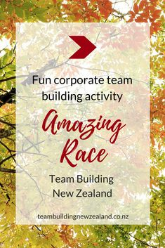 Amazing Race - Team building exercises and leadership training activities in New Zealand. Teams receive Amazing Race instructions and a Scavenger Hunt Map of the local area. Teams need to strategise and decide which activities to do as some have more points than others.  Make your next corporate team building event one to remember! Get in contact today teambuildingnewzealand.co.nz #teambuildingactivities #workplace #corporate #teamwork