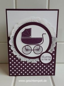 Stampin up, Something for Baby, Wunderbare Worte