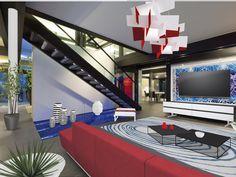 RUF HAUS HEGNAU LIVING ROOM BY C Flat Screen, Basketball Court, Living Room, Design, Haus, Flatscreen, Sitting Rooms, Drawing Room, Lounge