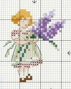 Point de croix -m@- cross stitchcross stitch chart