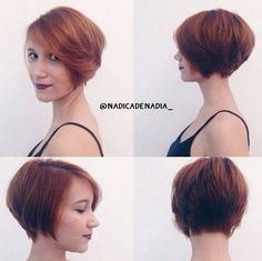 Straight Bob Hairstyles - Everyday Hairstyles for Short Hair 2016