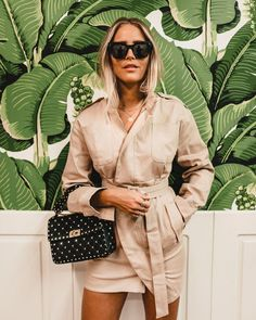 Discover the latest trends online. Fashion destination for sophisticated and playful fashionistas. Valentino Rockstud Bag, Valentino Bags, I Dress, Shirt Dress, Ugly To Pretty, Studded Bag, Cloth Bags, Monaco, Spring Summer Fashion