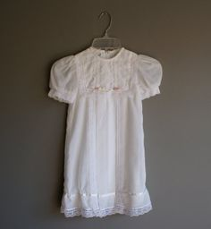 vintage Toddler GUNNE SAX White Boho Dress size by heightofvintage, $30.00