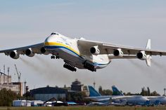 "Antonov An225 #antonov #an225 #mriya The Antonov An-225 Mriya is a strategic airlift cargo aircraft that was designed by the Soviet Union's Antonov Design Bureau in the 1980s. The An-225's name Mriya (Мрiя) means ""Dream"" (Inspiration) in Ukrainian. It is powered by six turbofan engines and is the longest and heaviest airplane ever built with a maximum takeoff weight of 640 tonnes. It also has the largest wingspan of any aircraft in operational service. The single example built has the…"