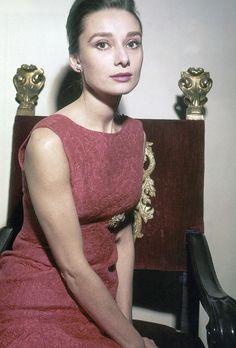 Audrey Hepburn in the 1950's
