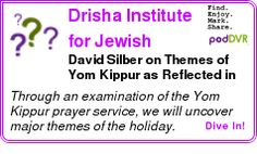 #UNCAT #PODCAST  Drisha Institute for Jewish Education Podcasts    David Silber on Themes of Yom Kippur as Reflected in Our Liturgy    LISTEN...  http://podDVR.COM/?c=d5263eaf-3eb9-41de-93b5-2c8318ce03fc
