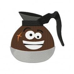 Coffee Pot Man 5_5 Inch