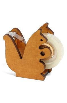 JAPANESE GIFT MARKET 'Squirrel' Tape Dispenser available at #Nordstrom - A must-have for my desk...