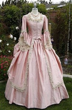 Marie Antoinette Style Gown