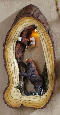 Woodlike Wall decor