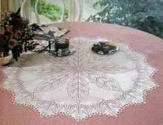 Several Knitted doily patterns FREE