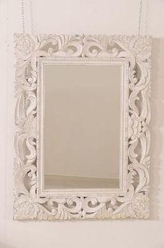 1000 images about ingresso specchi on pinterest - Specchio cornice bianca ...