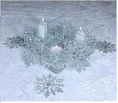 The wedding centerpieces may not look such a huge problem when you find the huge picture. To sum this up, there are lots of winter wonderland wedding centerpieces you can pick from if you prefer to have a really good… Continue Reading → Winter Wonderland Centerpieces, Winter Wedding Centerpieces, Winter Wonderland Theme, Wedding Table, Wedding Decorations, Wedding Ideas, Trendy Wedding, Wedding Designs, Wedding Colors