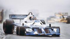 Patrick Depailler & Jean Pierre Jabouille (Tyrrel 6 weels & Renault Turbo) 1977 F-1 World Championship