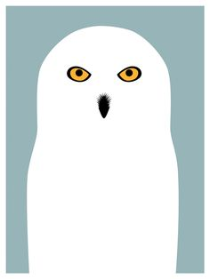 Print Collection - Snowy Owl, Day