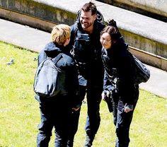 Hunger Games Movie Set / Mockingjay / Katniss / Peeta