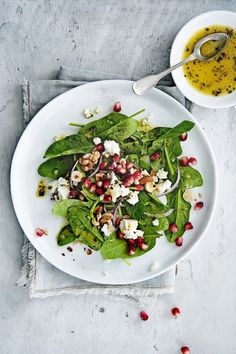 Wine Recipes, Salad Recipes, Cooking Recipes, Superfood Salad, Healthy Side Dishes, Veggies, Yummy Food, Lunch, Dinner