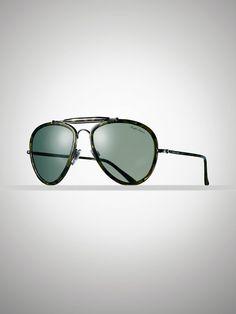 Vintage Pilot Sunglasses - Sunglasses  Men - RalphLauren.com