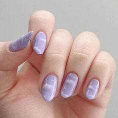 hand painted purple clouds nails nailart purple clouds beauty stars nailsacrylic is part of nails Simple Neutral Winged Liner - nails Simple Neutral Winged Line Summer Acrylic Nails, Best Acrylic Nails, Summer Nails, Acrylic Nails Pastel, Spring Nails, Ten Nails, S And S Nails, Kawaii Nails, Fire Nails