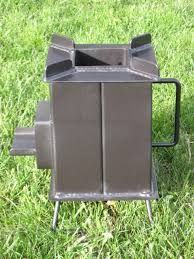 Collapsible fusion fire pit rocket stoves pinterest for Heavy duty rocket stove