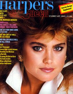 Kathy Ireland for Harper's & Queen February 1984 Shirley Williams, Kathy Ireland, Timeless Beauty, Eating Well, Supermodels, Magazine Covers, Queen, 1980s, Image Search