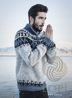 Keep your sweetie toasty warm with a groovy Lopi sweater perfect for cold winter days.