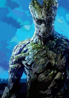 Photoshop Groot art