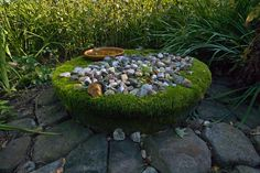 Amazing moss altar- Pinned by The Mystic's Emporium on Etsy