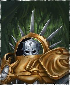 Lord Celestant #ageofsigmar #warhammer #art #fantasy #aos #gamesworkshop…